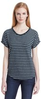 Calvin Klein Jeans Women's Essential Stripe Short-Sleeve Tee