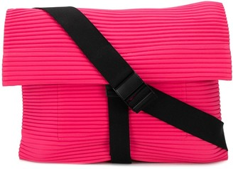 Homme Plissé Issey Miyake Pleated Messenger Bag