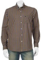 Dockers Men's No-Wrinkle Patterned Button-Down Shirt