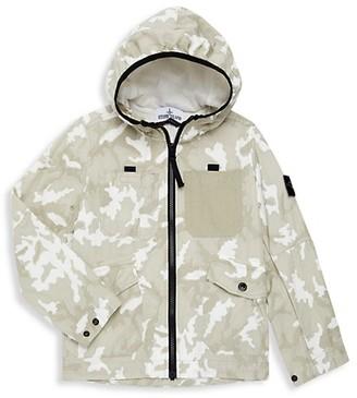Stone Island Little Boy's & Boy's Camouflage Jacket