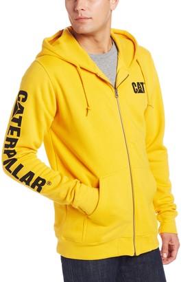Caterpillar Men's Big-Tall Full Zip Hooded Sweatshirt