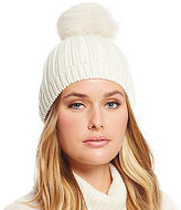 UGG Ribbed Beanie with Shearling Pom