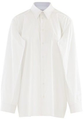 Maison Margiela Poplin cotton shirt