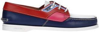 Prada Colour Block Deck Shoes