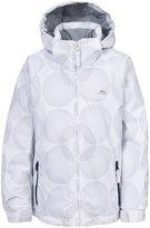 Trespass Childrens Girls Ajo Zip Up Waterproof Snow Jacket