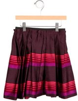 Little Marc Jacobs Girls' Silk Pleated Skirt w/ Tags