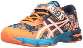 Asics GelNoosa Tri 11 PS Kids Running Shoe 12K Hot Orange-White-Dark Navy