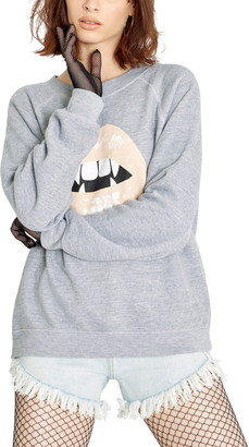 Wildfox Couture Sommers Vampy Graphic Sweatshirt