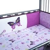 Lambs & Ivy Luxury Butterfly Lane Cot Bumper