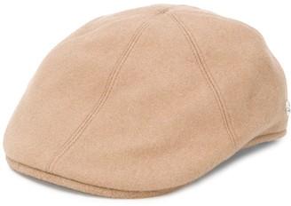 Tagliatore Paneled Cashmere Flat Cap