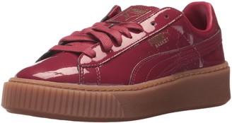 Puma Women's Basket Platform Patent Wn