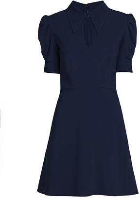 Stella McCartney Blair Puff-Sleeve Dress