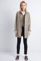 Zadig & Voltaire Musta Spi Trench