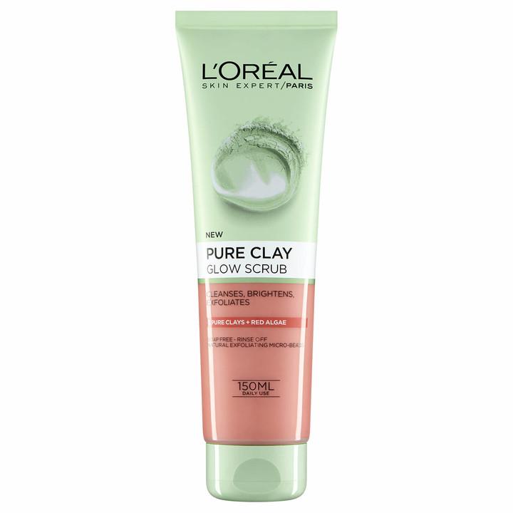 L'Oreal Pure Clay Glow Foam Wash 150ml