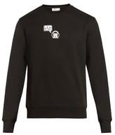 Acne Studios Casey Emoji-appliqué Cotton Sweatshirt