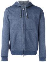 Brunello Cucinelli zipped hoodie - men - Cotton - XXL