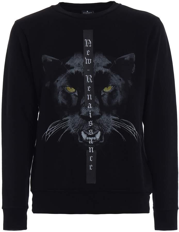 Marcelo Burlon County of Milan Yune Cotton Jersey Sweatshirt