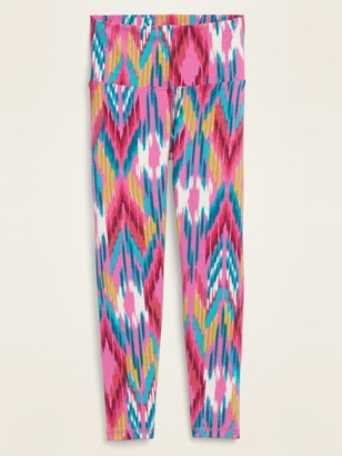 Old Navy High-Waisted Printed Balance Crop Leggings for Women