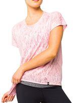 LIJA Veil Light Layering Burnout Yoga Top - Women's