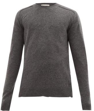 Bottega Veneta logo Cashmere Sweater - Grey