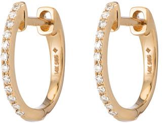 Ariel Gordon Pave Diamond Huggies Earring