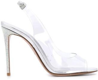 Le Silla Divina sling-back sandals