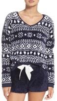 Make + Model Women's Fuzzy Lounge Sweater