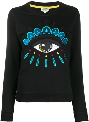 Kenzo Eye embroidered sweatshirt