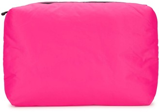 Kassl Editions Pink padded canvas clutch