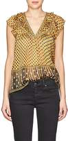 Ulla Johnson Women's Avery Silk Chiffon Top