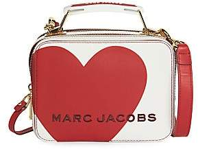 Marc Jacobs Women's The Box 20 Heart Leather Top Handle Bag