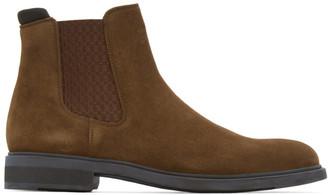 HUGO BOSS Brown Firstclass Chelsea Boots