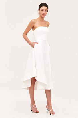 C/Meo Collective BEYOND CONTROL DRESS ivory