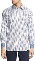 Robert Graham Men's Cotton Designed Button-Down Shirt
