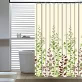 Elegant Home Fashions Leaf Vine Shower Curtain