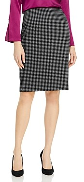 HUGO BOSS Veroki Houndstooth Pencil Skirt