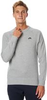 Nike Sb Icon Mens Crew Grey
