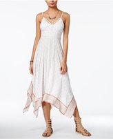American Rag Summer Nights Printed Handkerchief-Hem Dress, Created for Macy's