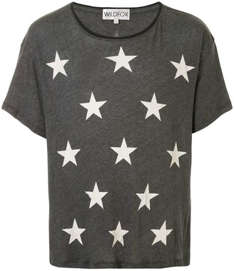 Wildfox Couture star-print T-shirt