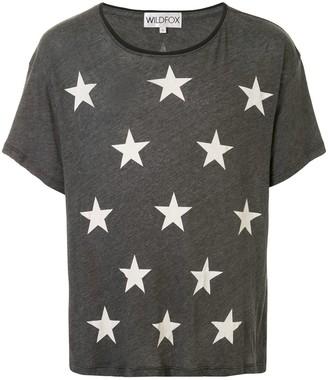 Wildfox Couture star-print T-shirt