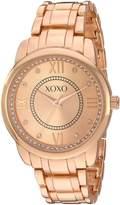 XOXO Women's Quartz Metal and Alloy Automatic Watch, Color:-Toned (Model: XO5949)