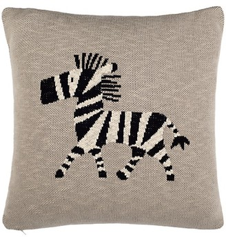 Safavieh Baby's Zebra Graphic Cotton Throw Pillow