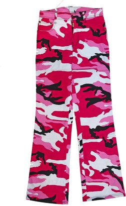 Rothco Military Combat Womens Trousers Pink Camo Camouflage Bright Army Pants