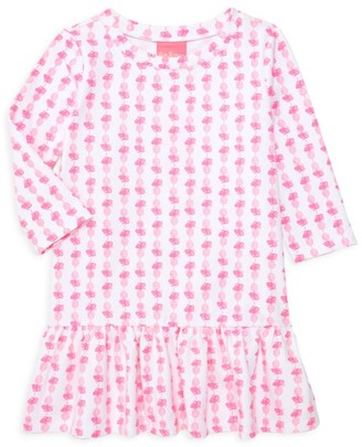 Lilly Pulitzer Little Girl's & Girl's Kim Pineapple Shift Dress
