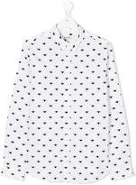 Kenzo Teen Eyes shirt - kids - Cotton - 14 yrs