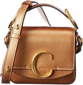 Chloé C Mini Leather Crossbody