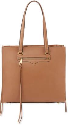 Rebecca Minkoff Large Leather Side-Zip Tote Bag