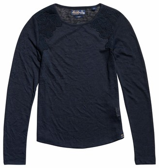 Superdry Women's Seanna LACE TOP