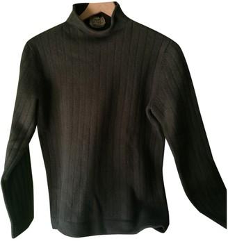 Hermes Khaki Wool Knitwear for Women Vintage