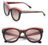Stella McCartney Double Pins 51MM Cat's-Eye Sunglasses